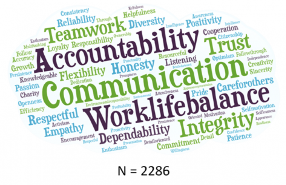 Word Cloud from Survey
